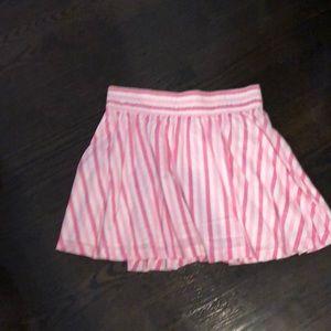 Pink candy skater skirt